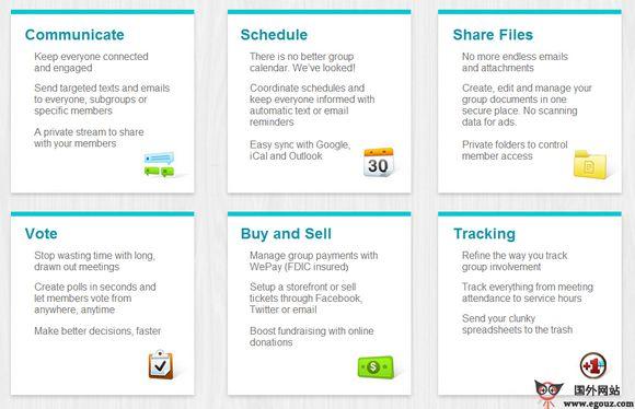 【经典网站】Groopt:通用组织在线协作平台