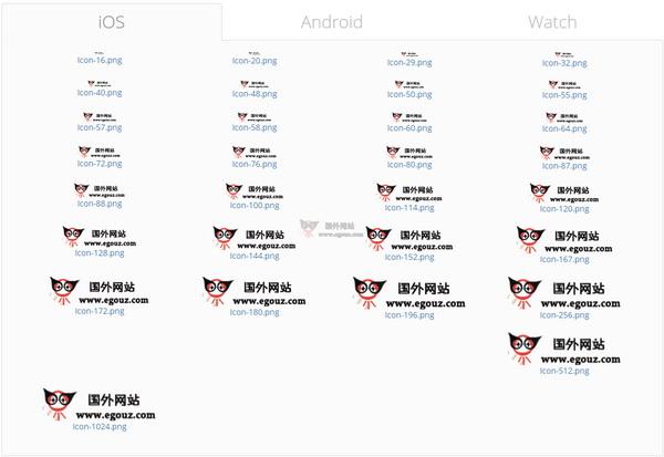 【工具类】AppIconMaker 在线应用图片生成工具