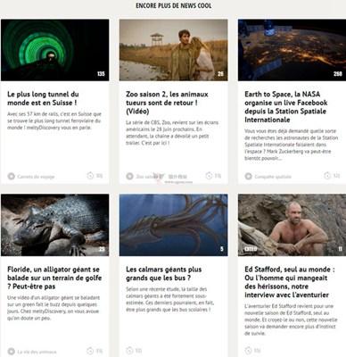 【经典网站】MeltyDiscovery:法国户外冒险资讯网