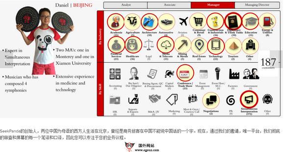 【经典网站】SeekPanda:中文口译服务平台