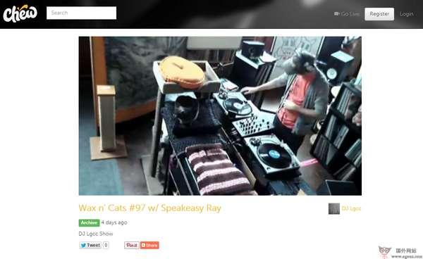 【经典网站】ChewTV:咀嚼DJ视频分享网