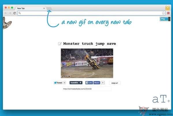 【工具类】AnimatedTabs:基于浏览器GIF动画扩展工具
