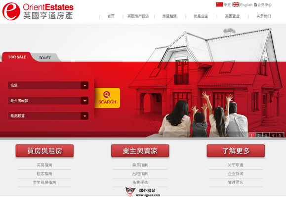 【经典网站】Ukore:英国亨通房产有限公司