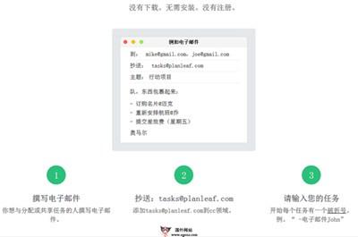 【工具类】Planleaf:基于邮箱的在线任务管理工具