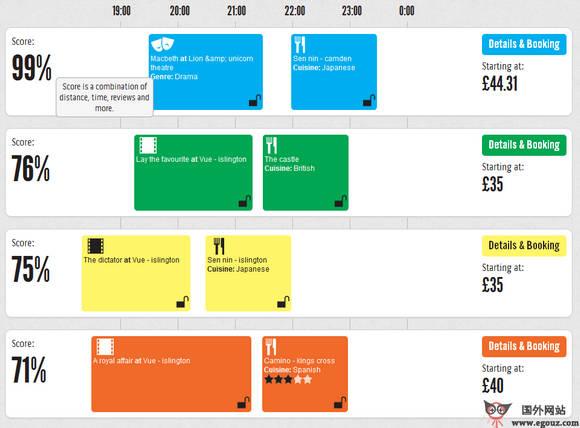 【经典网站】TimIsTa:伦敦旅游订制服务平台