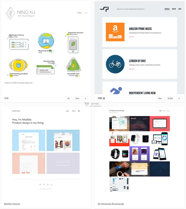 【素材网站】Bestfolios|产品设计师UI作品聚合网