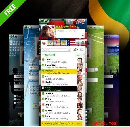 【经典网站】ICQ:以色列IM即时聊天通讯开发平台