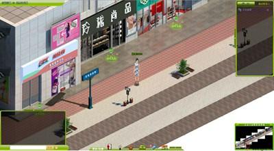 【经典网站】3Dcbd:苏州3D虚拟街社区