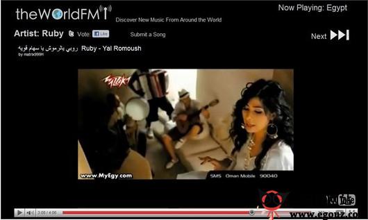 【经典网站】TheWorldFM:免费MV音乐视频分享网