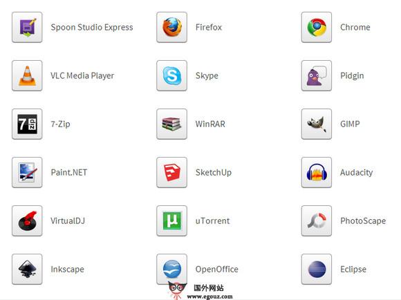 【经典网站】Spoon:在线云端应用软件平台