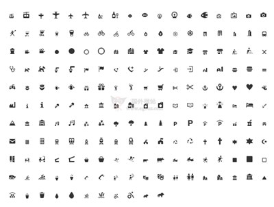 【素材网站】Maki Icons 免费可商业地图图标素材库