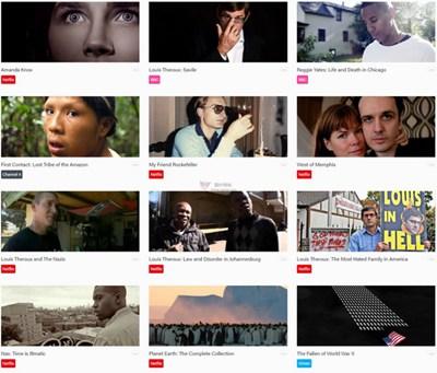 【经典网站】Rocumentaries|最佳纪录片视频聚合网