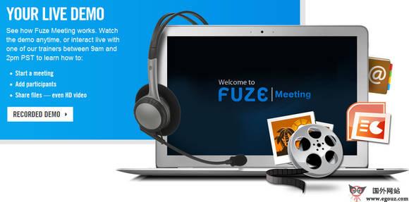 【工具类】FuzeBox:移动设备视频会议同步工具