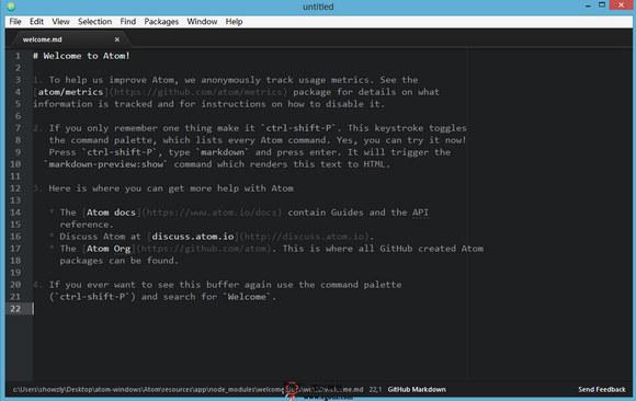 【工具类】aTom.io:免费开源开发者编辑器工具