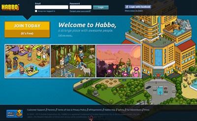 【经典网站】Habbo:哈宝在线虚拟生活社区