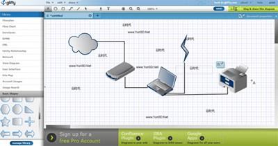 【数据测试】Gliffy,免费在线绘图云软件