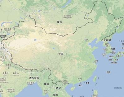 """【数据测试】Google地图变""""漂亮""""了,""""地图""""模式下可看到地形、植被等情况"""