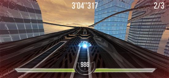 【数据测试】HTML5游戏:HexGL未来空中竞赛飞车