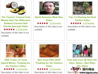 【经典网站】Ifood.tv:美食菜谱分享网