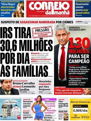 【经典网站】Cmjornal:葡萄牙晨邮报