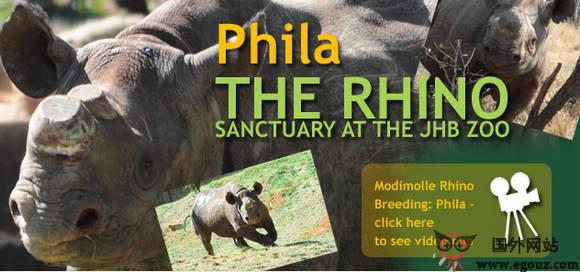 【经典网站】JhbZoo:南非约翰内斯堡动物园官网