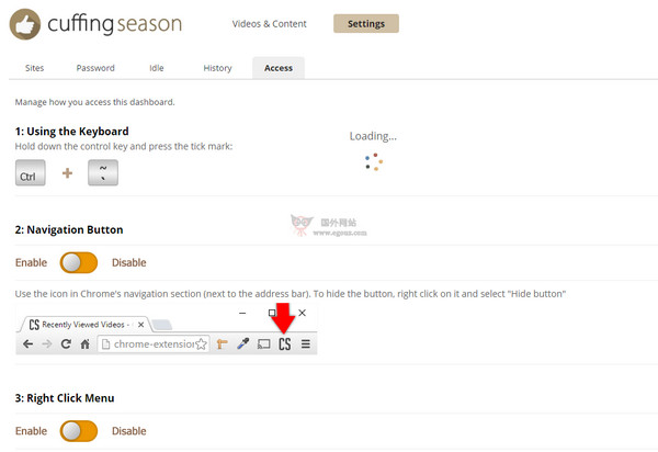 【工具类】CuffingSeason:自动删除浏览历史扩展