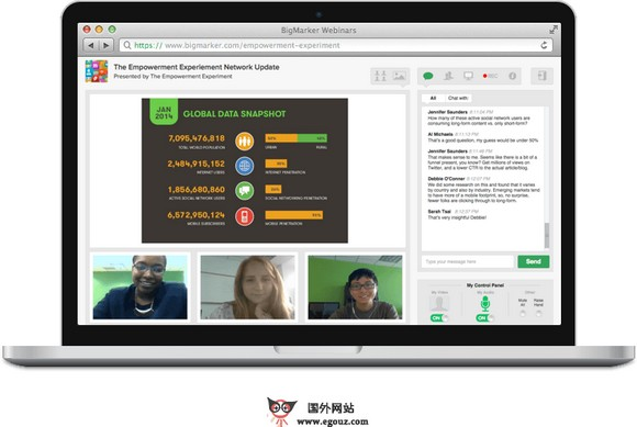 【经典网站】BigMarker:在线免费兴趣研讨平台