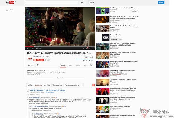 【工具类】Alientube:第三方Youtube评论扩展