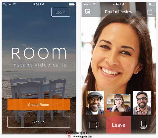 【经典网站】Room.co:在线免费群组视频电话网