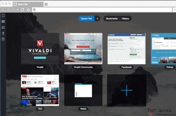 【经典网站】Vivaldi:由Opera团队打造的极客浏览器