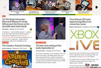 【经典网站】Theverge:电子产品科技博客资讯平台