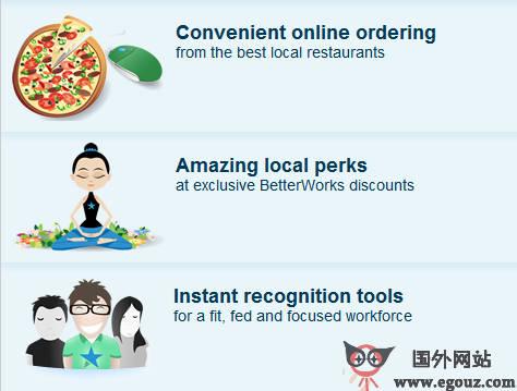 【经典网站】BetterWorks:企业员工激励平台