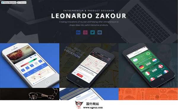 【素材网站】Fltdsgn:平板UI设计分享网
