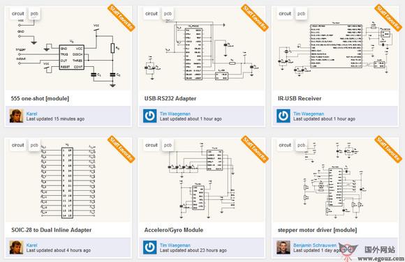 【工具类】Circuits.io:免费在线电路图设计工具