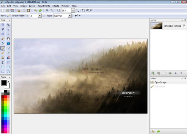 【工具类】Pinta:免费开源图片编辑工具