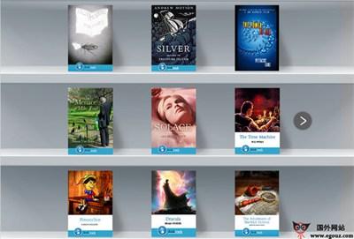 【经典网站】BookTrack:音乐电子书阅读平台