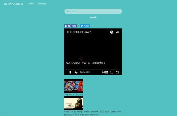 【经典网站】DeepFocus|提高专注力的背景音乐