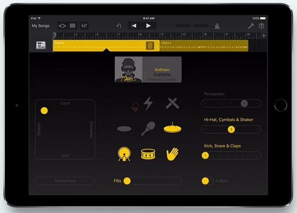 【经典网站】GarageBand 智能设备音乐创作应用