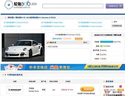 【经典网站】LunTai360:轮胎搜索查询数据库