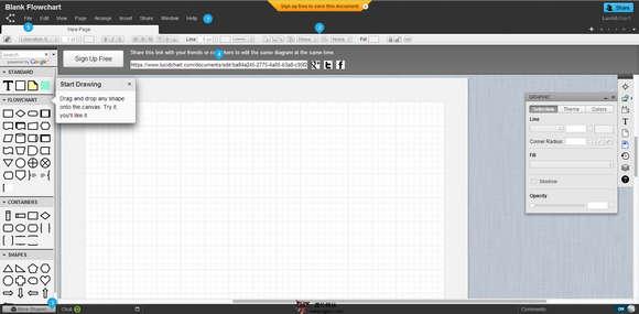 【工具类】LucidChart:在线流程图绘制协作平台