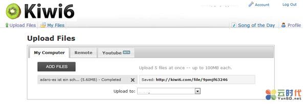 【数据测试】Kiwi6,免费MP3音乐外链网盘