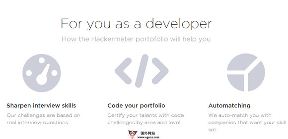 【经典网站】HackerMeter:基于评分模式的人才招聘网