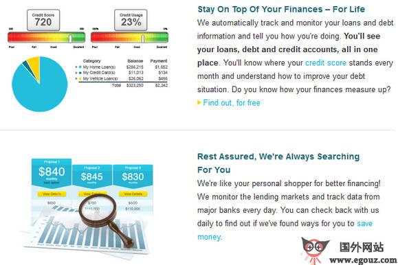 【经典网站】CreditSesame:个人理财服务平台