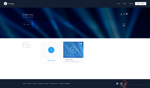 【素材网站】JukeDeck:免费影视专案配乐资源网