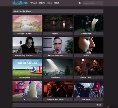 【经典网站】ShortFilms:互联网短视频分享网