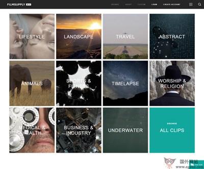 【素材网站】FilmSupply:影视素材营销平台