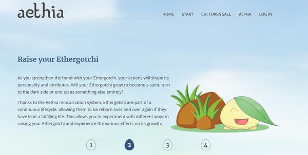 【经典网站】Aethia|区块链以太蛋养成游戏