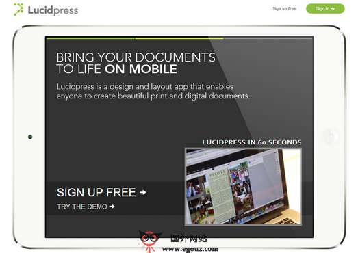 【工具类】LucidPress:在线免费数字出版编辑平台