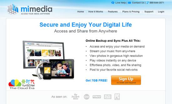 【数据测试】MiMedia免费云存储 – 免费提供7GB云存储空间