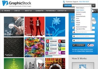 【素材网站】GraphicStock:基于订阅的免费素材分享网